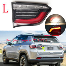 Left Inner For Jeep Compass 2017 18-2019 Rear Lamp Tail Light Brake Stop W/ Blub