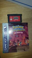 Nintendo Gameboy Advance Pokemon Mystery Dungeon Red Rescue Team