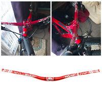 Red Cycling Mountain Bike Bicycle Extra Long Handlebar 31.8x 780mm Riser Bar