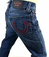 True Religion Manchester United $229 Men's Ricky Relaxed Straight Jeans - 102264