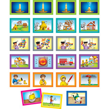 4-Scene Sequencing Pocket Chart Cards TCR20848 Teacher Created Resources