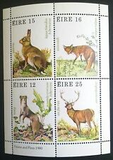 IRELAND-IRLANDIA STAMPS MNH - Game Animals, 1980, **
