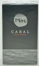 Miro Cabal pour Homme Eau de Toilette 75 ml  NEU inkl. Rechnung mit MwSt
