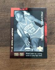 Michael Jordan 1999 Upper Deck The Early Years #2 Chicago Bulls HOF