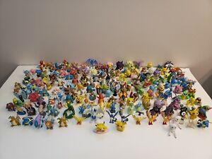 Vintage Pokemon Figures Lot 180 + 31 Mini Tomy Nintendo Mini Figures Mixed Cond.