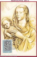 ITALIA MAXIMUM MAXI CARD ROMA 49 AGOSTINO DI DUCCIO NATALE 1973 ANN. TORINO B767