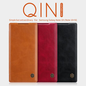 For Samsung Galaxy Note20 /Ultra /10 +Plus 5G Nillkin PU Leather Flip Cover Case