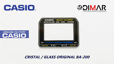 VINTAGE GLASS CASIO BA-200 NOS