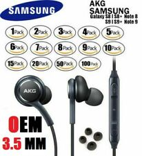 Orginal Samsung Oem Akg Stereo headsets Headphones Earphones In Ear Earbuds Lot
