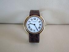 Cartier Vendome Paris 18K Solid Gold Automatic Watch