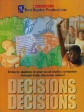 Decisions, Decisions Immigration Pc Mac Cd children discuss law social studies