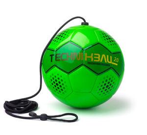 Technikball 2.0 Multkick Ball Bounce Back Trainingsball mit Schnur Größe: 5