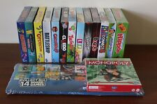 Hasbro Family Favourites - Mini Games - Complete Set of 14 inc. Monopoly & Case