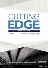 CUTTING EDGE Starter NEW EDITION (2014) Teacher's Book with Resource Disc @NEW@