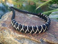 COMPOUND BOW WRIST SLING  Black with Digital Micro Braid X Weave