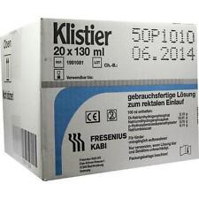 KLISTIER 20X130ml PZN 2057139