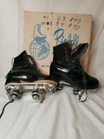 Riedell Skating Shoes Size 4 Black