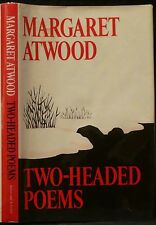 Atwood, Margaret.  Two-Headed Poems.  Signed, First Edition