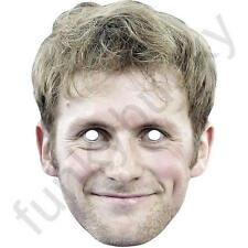 Jason Kenny Celebrity Cyclist Sport Card Mask - All Our Masks Are Pre-Cut