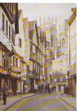 Yorkshire Postcard - Petergate - York - Ref AB3137