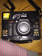 Nikon D D5300 24.2 MP Digital SLR Camera - Black (Kit w/ AF-S DX 18-55mm VR II L