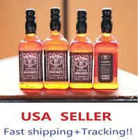 1/6 4 x bottles whiskey alcohol toy for Hot toys Kumik Phicen stage property