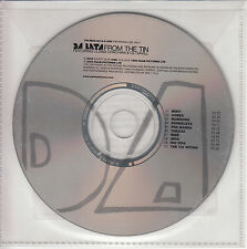 DA LATA Songs From The Tin 2000 UK 10-track promo CD