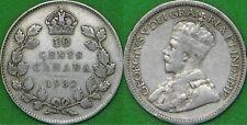 1932 Canada Silver Dime Graded as Fine