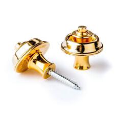 Jim Dunlop Straplok Original Strap Locks Set of 2 (Gold)