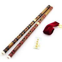 Traditional Chinese Musical Instrument Handmade Dizi Bamboo Flute in G Key ME