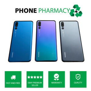 GENUINE HUAWEI P20 PRO CLT-LO9 REAR BACK GLASS BATTERY COVER REAR HOUSING CASE