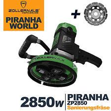 Zollernalb Piranha ZP2850 Concrete cutter Renovation milling machine