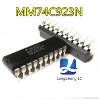 1pcs MM74C923N Manu:NS Encapsulation:DIP-20,16-Key Encoder 20-Key Encoder new