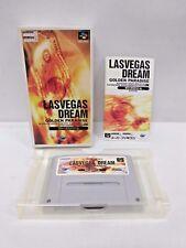 LASVEGAS DREAM -- Can save. Boxed. Super famicom, SNES. Japan game. 13594
