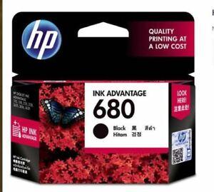 HP 680 F6V27AA Original Ink Advantage Cartridge - Black
