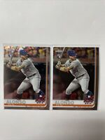 2019 Topps Chrome Update Series #86 Pete Alonso RC ASG New York Mets Lot PA2