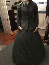 Ladies' reproduction Civil War or Western lancer jacket and matching skirt
