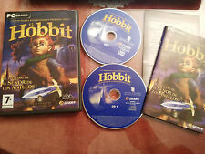 EL HOBBIT EL PRELUDIO DE EL SEÑOR DE LOS ANILLOS JUEGO PC 2 X CD-ROM ESPAÑOL