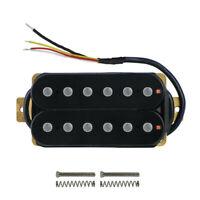 Black Alnico 5 Electric Guitar Humbucker Pickup Neck Pickup Double Coil 7-8K