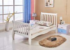 Westwood 3ft simple en bois traîneau cadre de lit pin meuble chambre à coucher