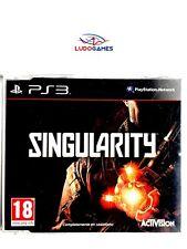 Singularity Promo PAL/EUR PS3 Playstation Videojuego Videogame Mint State Retro