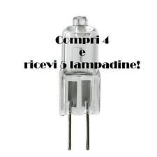 LAMPADINA LAMPADA G4 20W ALOGENA 12V BISPINA SE COMPRI 4 RICEVI 5