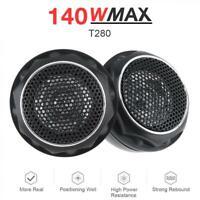 150W Universal Durable High Efficiency Mini Dome Car Tweeter Speakers for Car