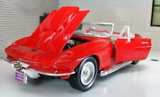 G LGB 1:24 Scale Chevrolet Chevy Corvette 1967 Motormax Diecast Model Car 73224