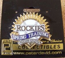 2001 Colorado Rockies Spring Training Tucson Arizona cactus league 2 layer