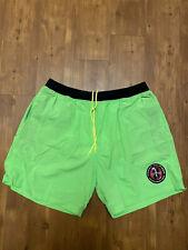 Tommy Hilfiger Aquatic Sport Gear Board Short Swim Trunks Green Mens XL Nylon