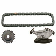 Timing Chain Kit Inc Chain Tensioner Sprocket For Oil Pump Fits Volks Febi 40265