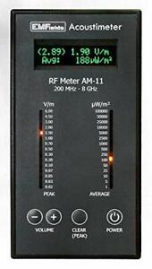 RF meter Acoustimeter AM-11 measures phones, towers, WiFi, FREE 3-DAY SHIP IN US