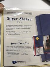 CREATIVE MEMORIES SUPER STARZZ ALBUM KIT DIE CUTS JOURNAL CARDS STICKERS NEW