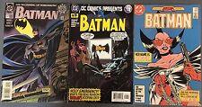 BATMAN lot of (3) #0 plus #401 & DC Comics Presents (1986-2004) DC Comics FINE+